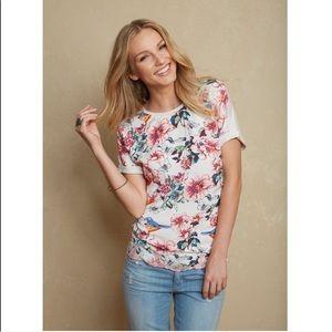 Matilda Jane floral and birds blouse size medium